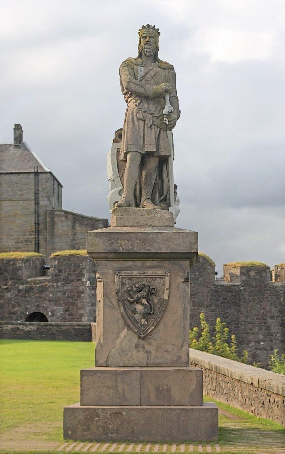Fig 10 Robert The Bruce monument Stirling Castle
