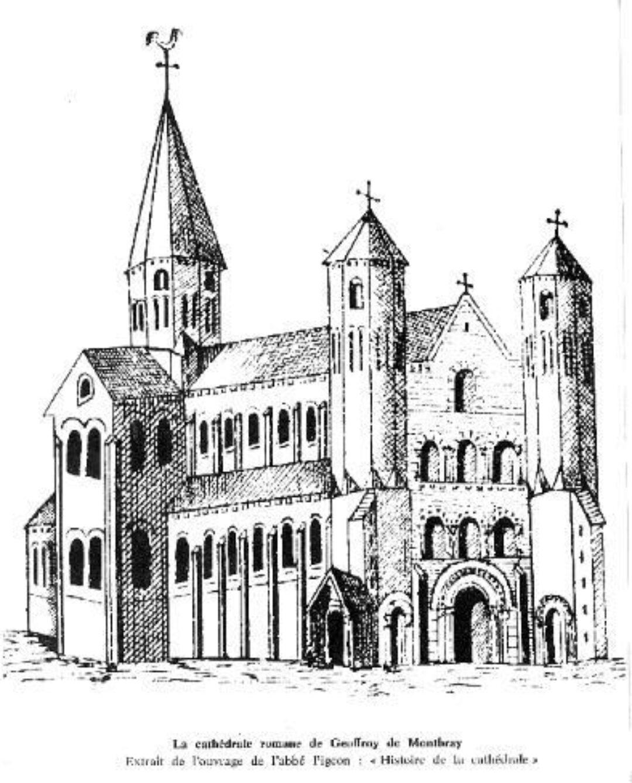 Fig 4 Romanesque Cathedral of Geoffrey de Montbray
