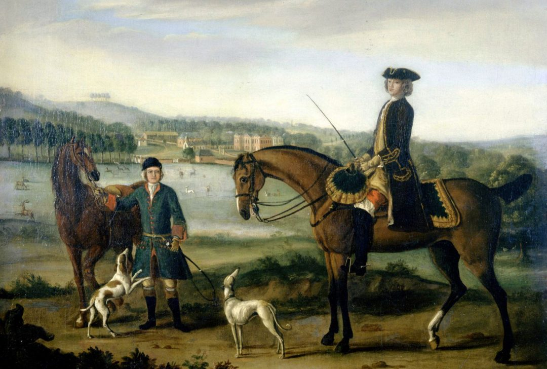 A Gentleman Of Taste Hestercombe Gallery C W Bampfylde By J Wootton C 1740 Detail