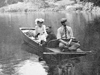 Punt hestercombe Fig 10 Mrs Portman Thomas Vesey W D Miller 1904