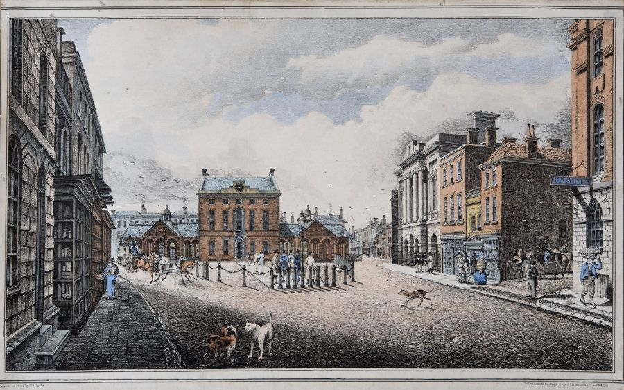 The Market House, Taunton was designed by C.W. Bampfylde. After Edward Turle c.1830