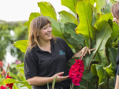 Claire Greenslade, Hestercombe Head Gardener