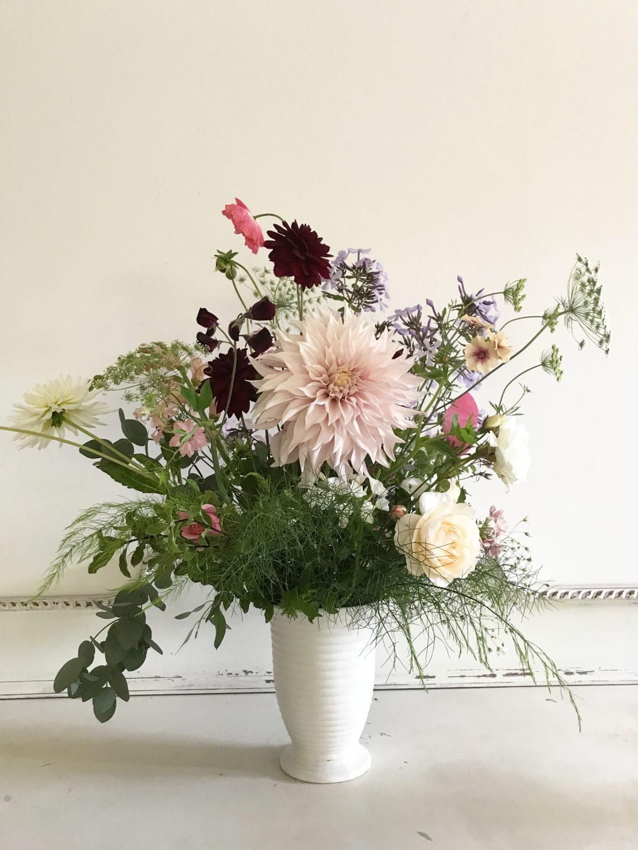 Summer Flower Arranging workshop Hestercombe Gardens Jan Boddington