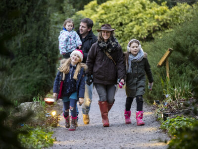 Christmas garden trails hestercombe