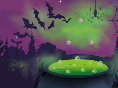 Halloween at Hestercombe October half term holiday activities