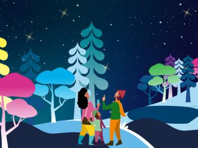 Illuminate - Christmas Illuminations at Hestercombe