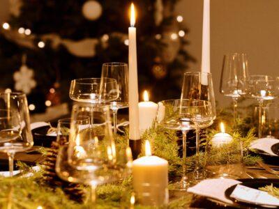 Christmas supper festive hestercombe food