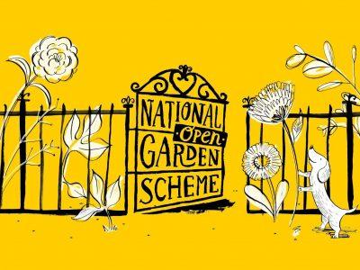 National Garden Scheme Open Days at Hestercombe Gardens