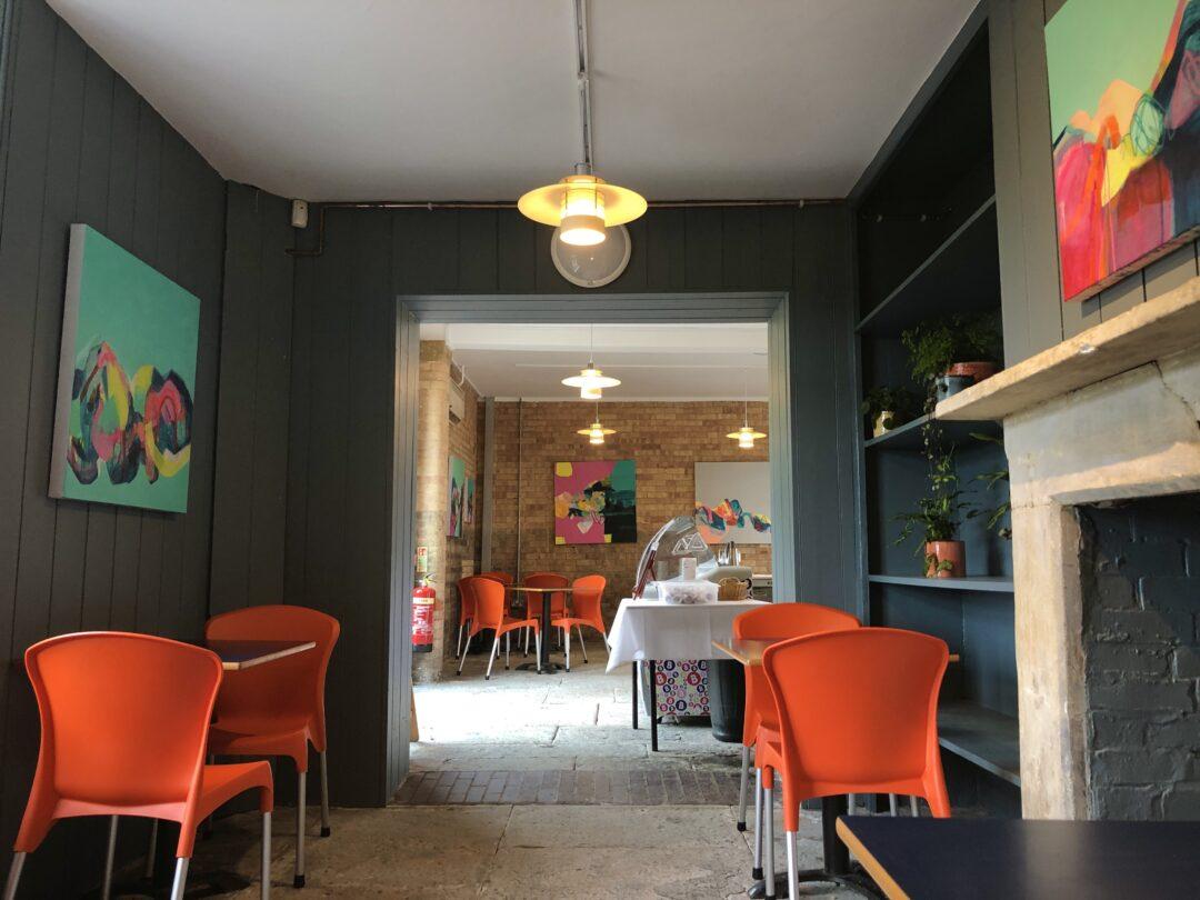 Caffe Gelato Cafe Hestercombe Gardens
