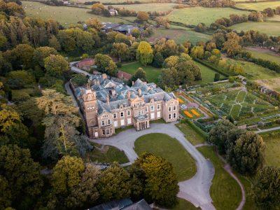 Hestercombe Gardens aerial Pawel Borowski DJI 0038