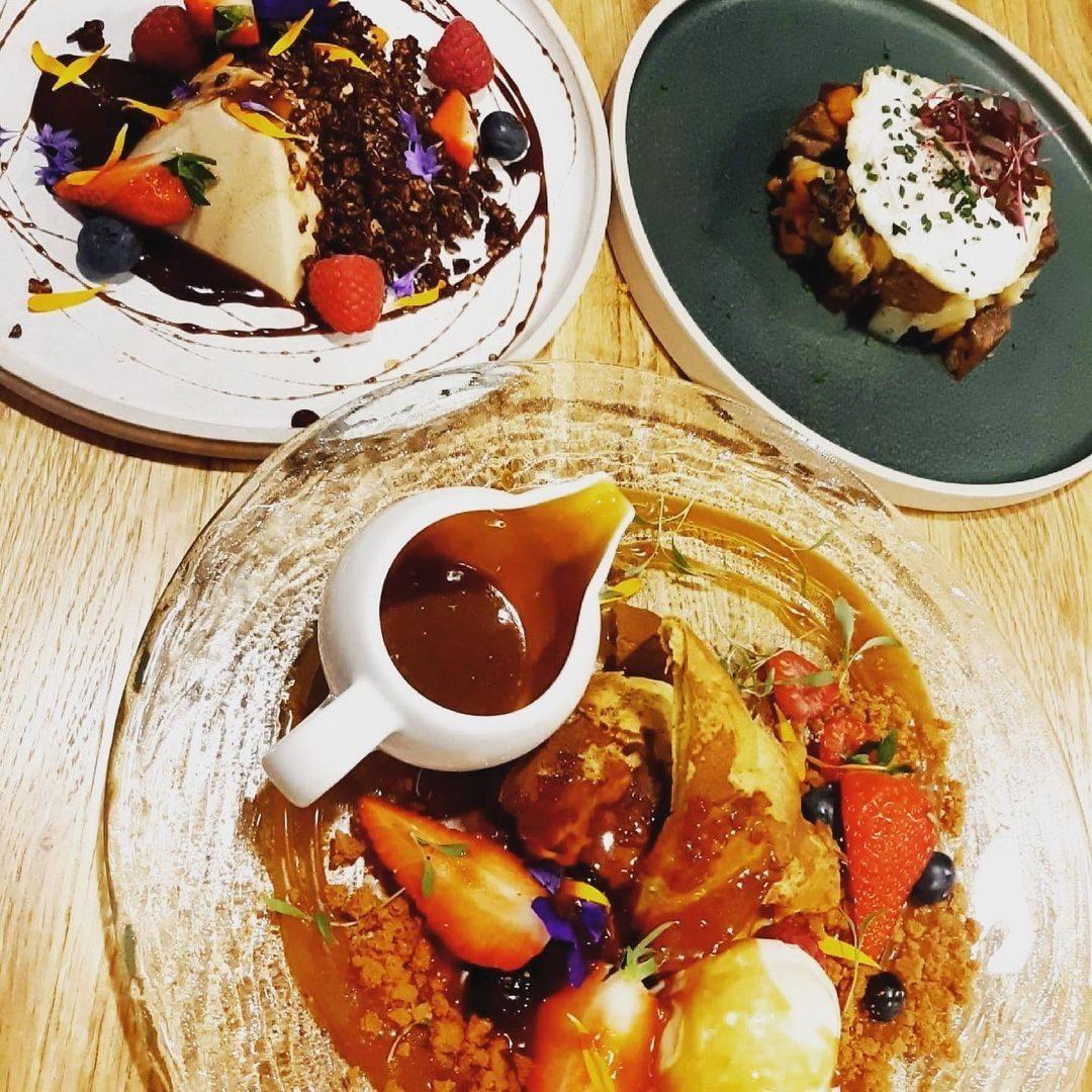Food at Hestercombe - the new menu, May 2021