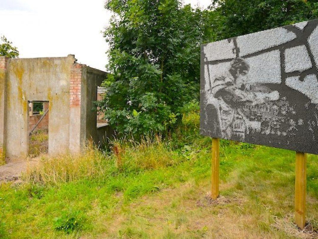 Jon England The Last Nail Lancaster Bomber Open Up Hestercombe Gallery