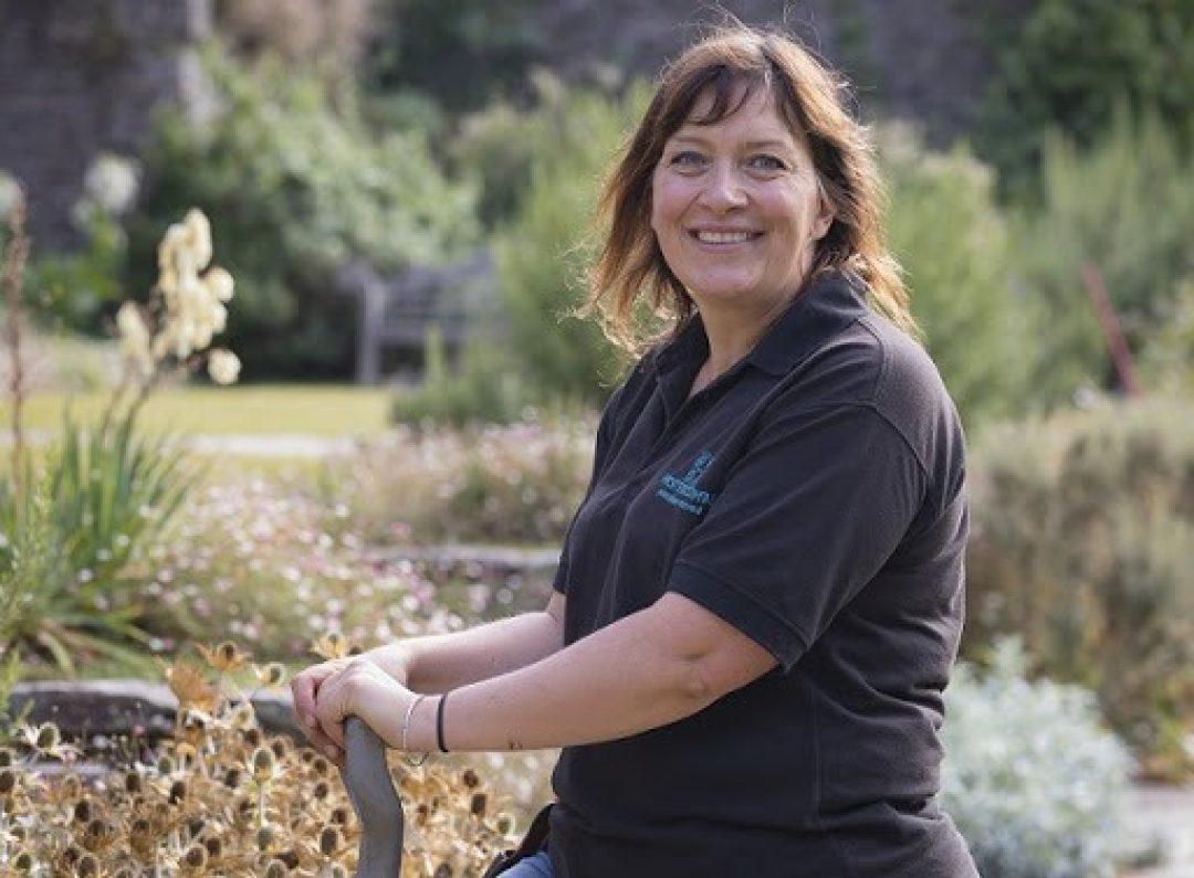 Claire greenslade head gardener hestercombe
