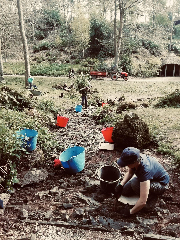 Gardens volunteering Hestercombe IMG 7191