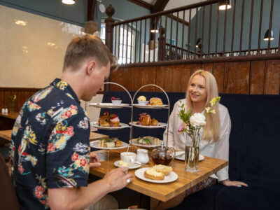 Afternoon Tea at Hestercombe's The Stables