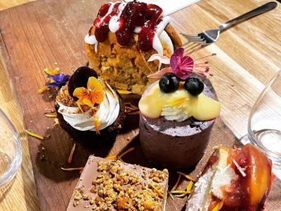 Food at Hestercombe ~ cakes and sweet treats, May 2021
