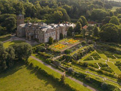 Hestercombe Gardens aerial Pawel Borowski DJI 0089